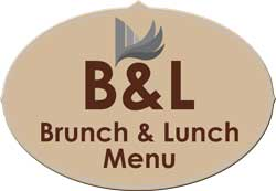 Bruunch & Lunch Menu