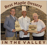 Best Maple Dessert in The Valley