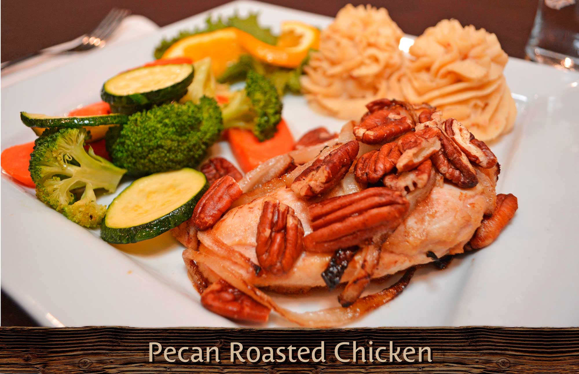Pecan Roasted Chicken