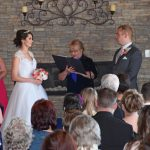 Wedding Vows in Lobby