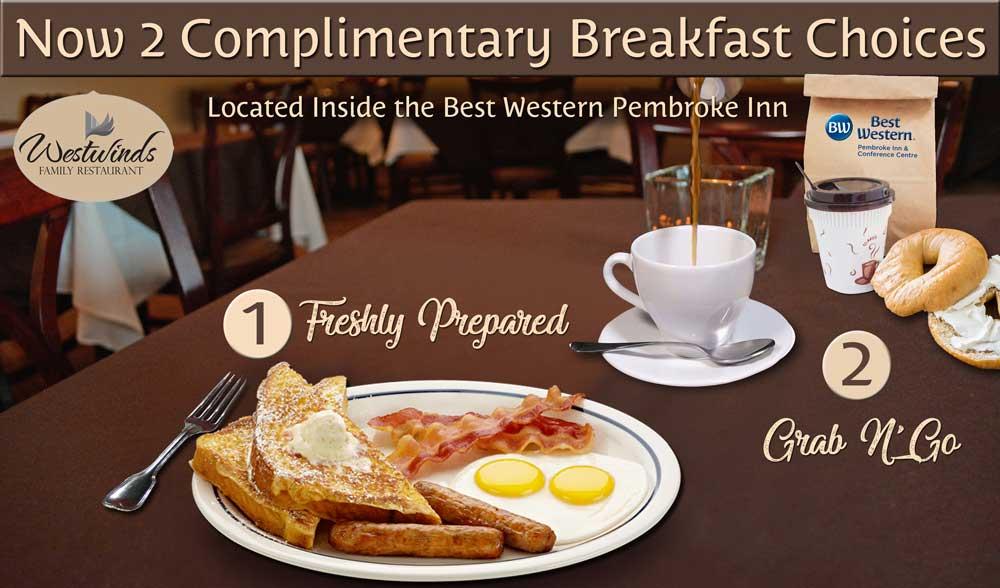 2018 Breakfast Menu